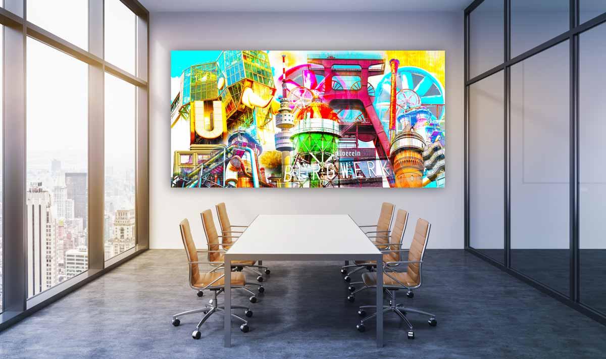 Besprechungsraum-Bürokunst