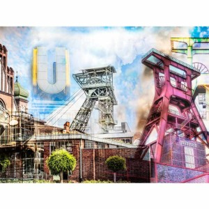 Bild Ruhrgebiet Panorama Collage | Pott meets Pop-Art