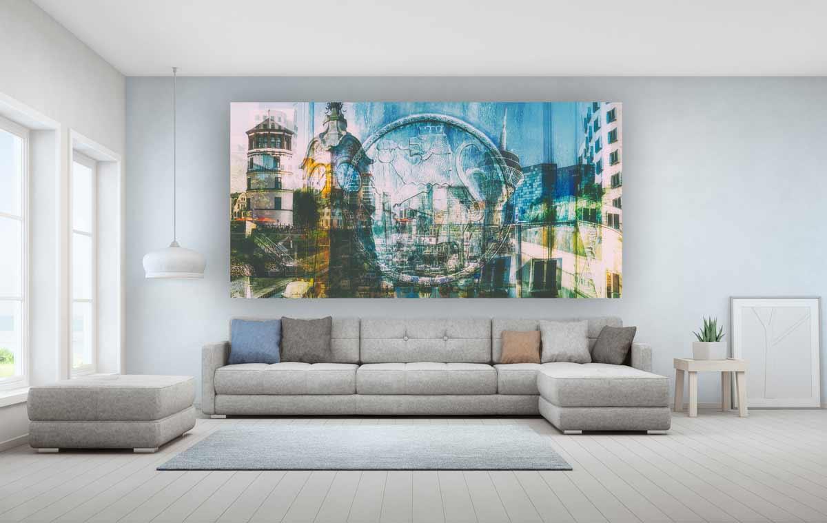 Wohnzimmer Bilder Auf Leinwand Caseconrad Com