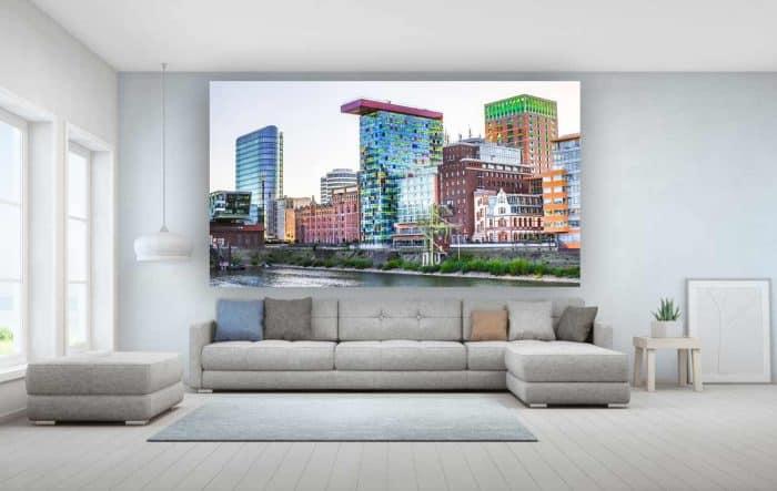 Bürokunst Medienhafen Kunst Bilder im Panorama Pop-Art Design