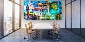 Bürokunst Wandbilder und moderne Acryl Pop-Art Kunstbilder