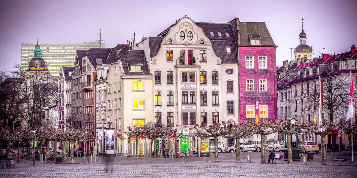 Burgplatz Altstadt Düsseldorf