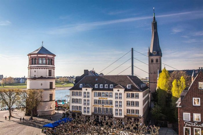 Düsseldorf Ansichten aus unserer Stadt   Panorama aus der Heimat