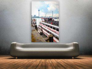 D sseldorf bilder f r heimatfreunde kunst collagen fotografie - Wandbild hochformat ...