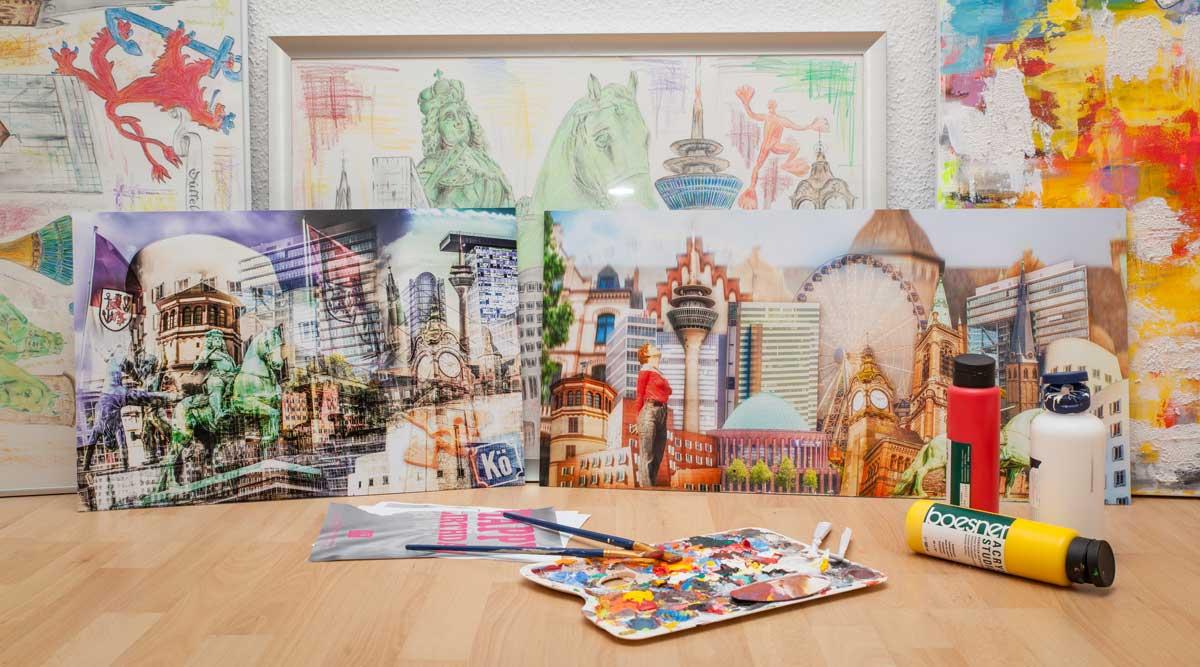 Moderne wandbilder und abstrakte leinwandbilder aus deiner for Designer wandbilder