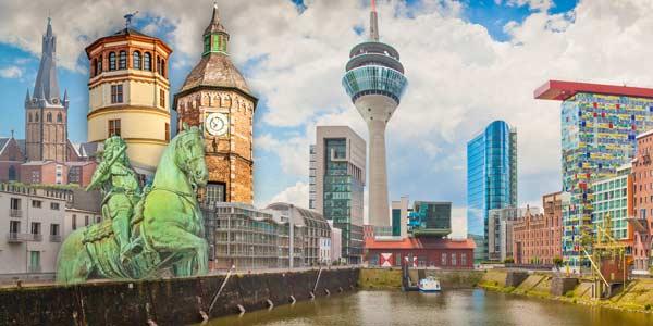 Moderne Düsseldorf Collagen, Fotokunst und Bilder