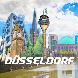 Düsseldorf-Motive-Pop-Art