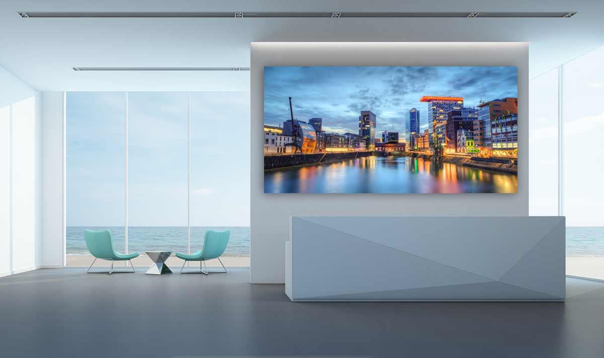 Empfangsbereich Panorama Kunst Bild