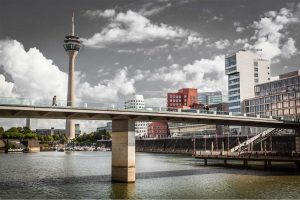 Fernsehturm Düsseldorf Bild | Fotokunst und Panorama Bilder