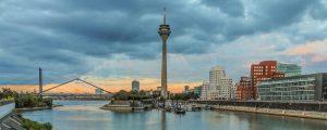 Fotografie Medienhafen Düsseldorf - Rhein Ansichten & Kunst