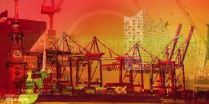 Fotokunst Hamburg Panorama BIld Elbe | Elbphilharmonie Flair