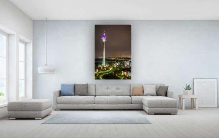 Fototapete Düsseldorf mit Kunst Motiv. Moderne Bürobilder und Wand Art für deine Wand. Wandbilder und Kunstwerke auf Leinwand und Acryl.