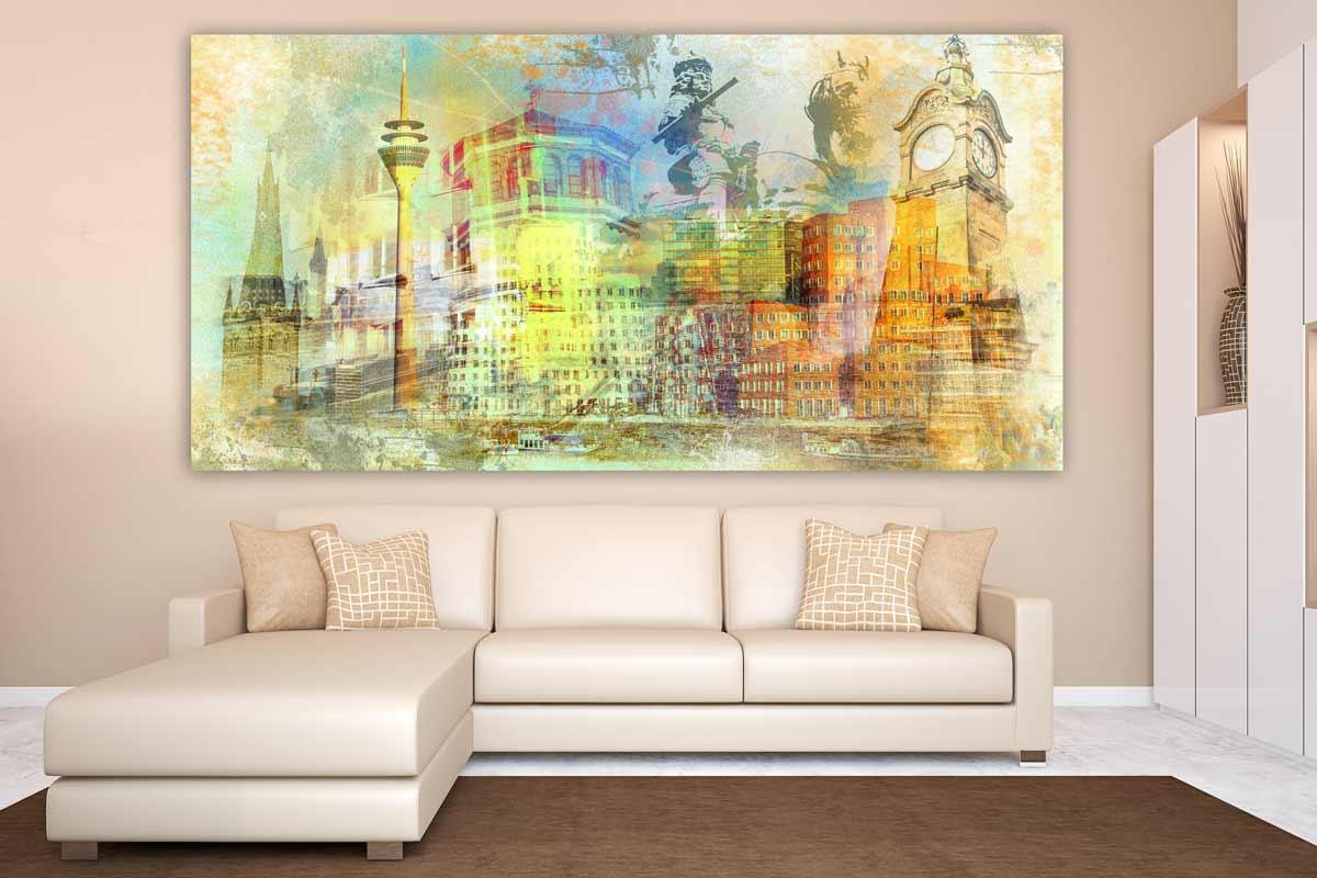 gem lde d sseldorf am rhein pop art kunst bilder auf. Black Bedroom Furniture Sets. Home Design Ideas