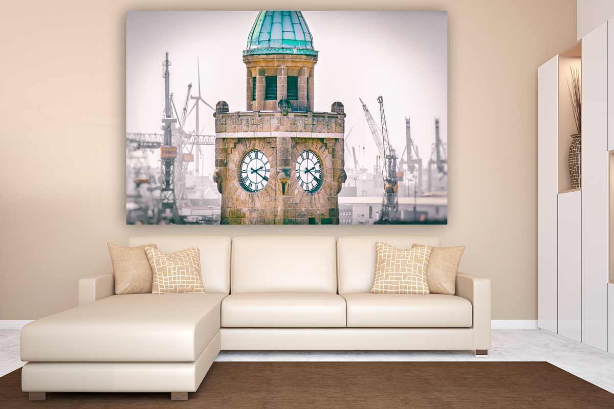 hamburg landungsbr cken kunst bilder aus der hansestadt acryl. Black Bedroom Furniture Sets. Home Design Ideas
