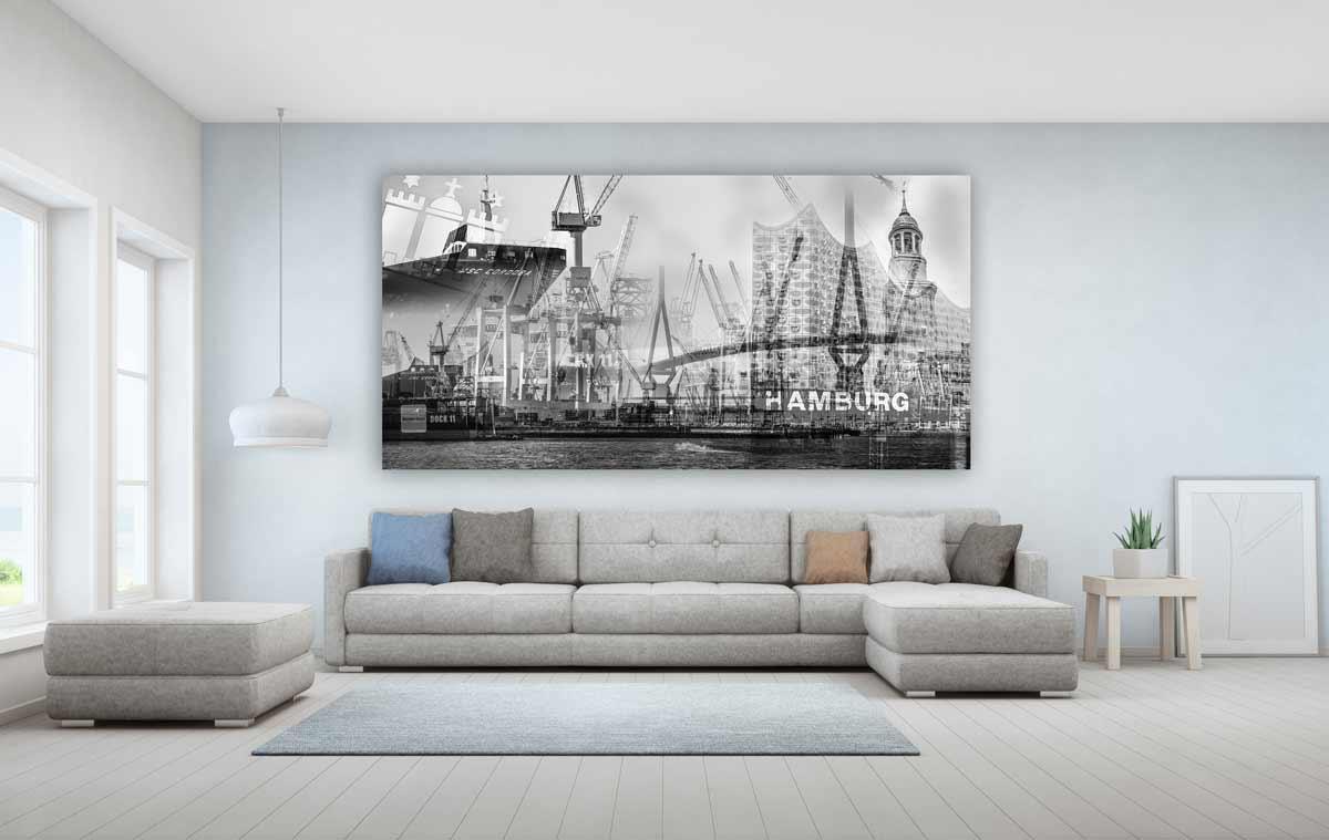 Moderne Bilder Wohnzimmer Schwarz Weiss – Caseconrad