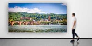 Heidelberg Panorama Bilder und Pop-Art Kunstwerke auf Art Leinwand