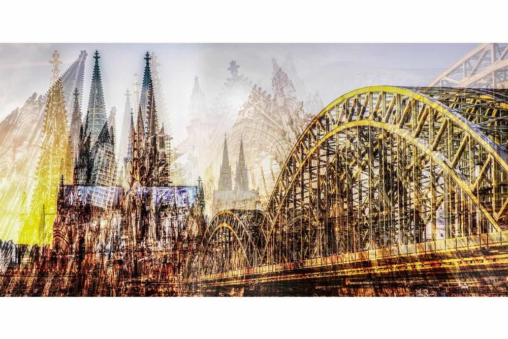 DOM Panorama Collage | Moderne Köln Bilder