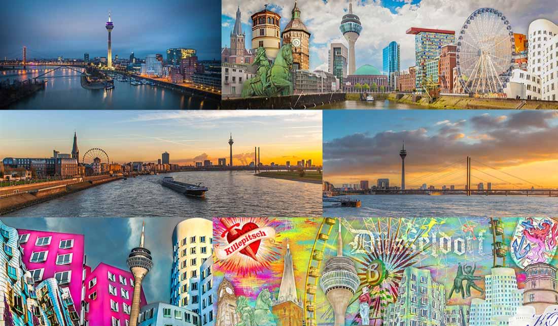 Kunst Panorama Bilder und Collagen Düsseldorf