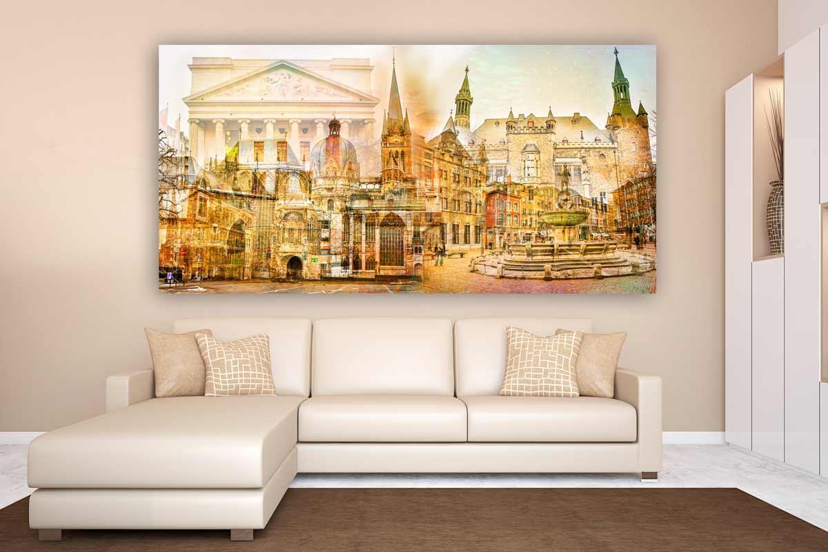 kunstbilder aachen auf leinwand und acryl pop art kunst und motive. Black Bedroom Furniture Sets. Home Design Ideas