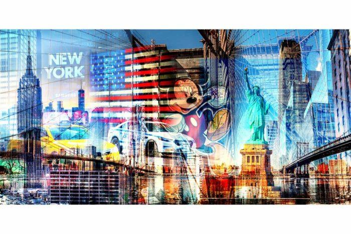 Kunstbilder New York City Panorama und XL Bilder für deine Wand
