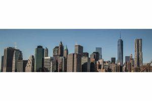 Kunstdruck New York Panorama Bilder und Stadt Skyline Motive auf Acryl