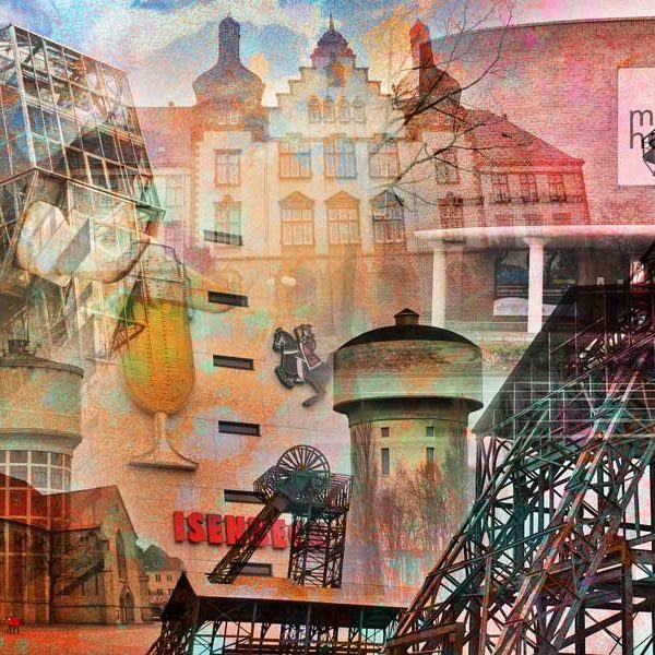 Kunstdrucke hamm im pop art design moderne wandbilder auf for Moderne kunstdrucke auf leinwand