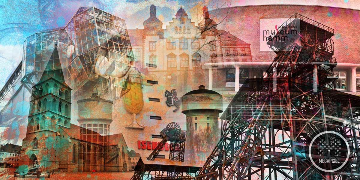 kunstdrucke hamm im pop art design moderne wandbilder auf