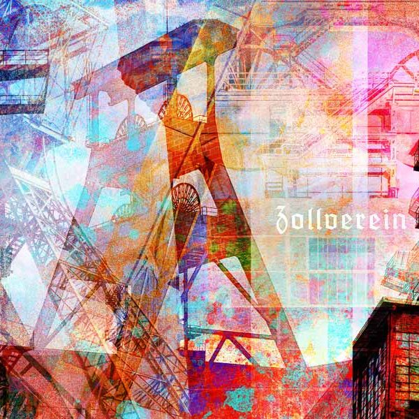 Kunstdrucke ruhrgebiet im pop art style moderne - Leinwandbilder moderne kunst ...