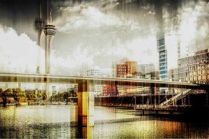 Leinwandbilder und moderne Panorama Pop-Art Kunst aus Düsseldorf