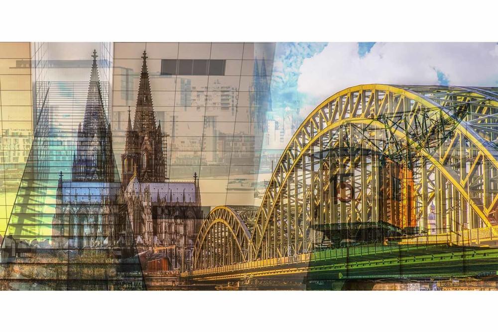Leinwandbilder Köln | Tolle Panorama und Skyline Motive