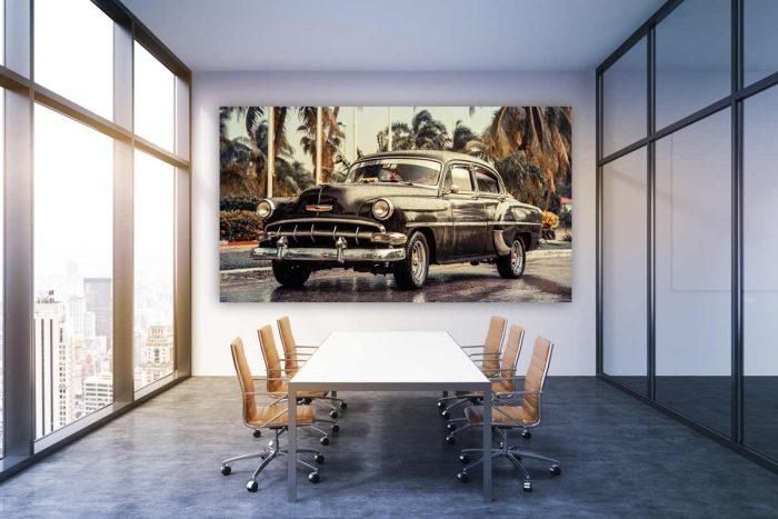 Oldtimer Kunstbilder, hochwertig und modern fürs Büro und zu Hause.