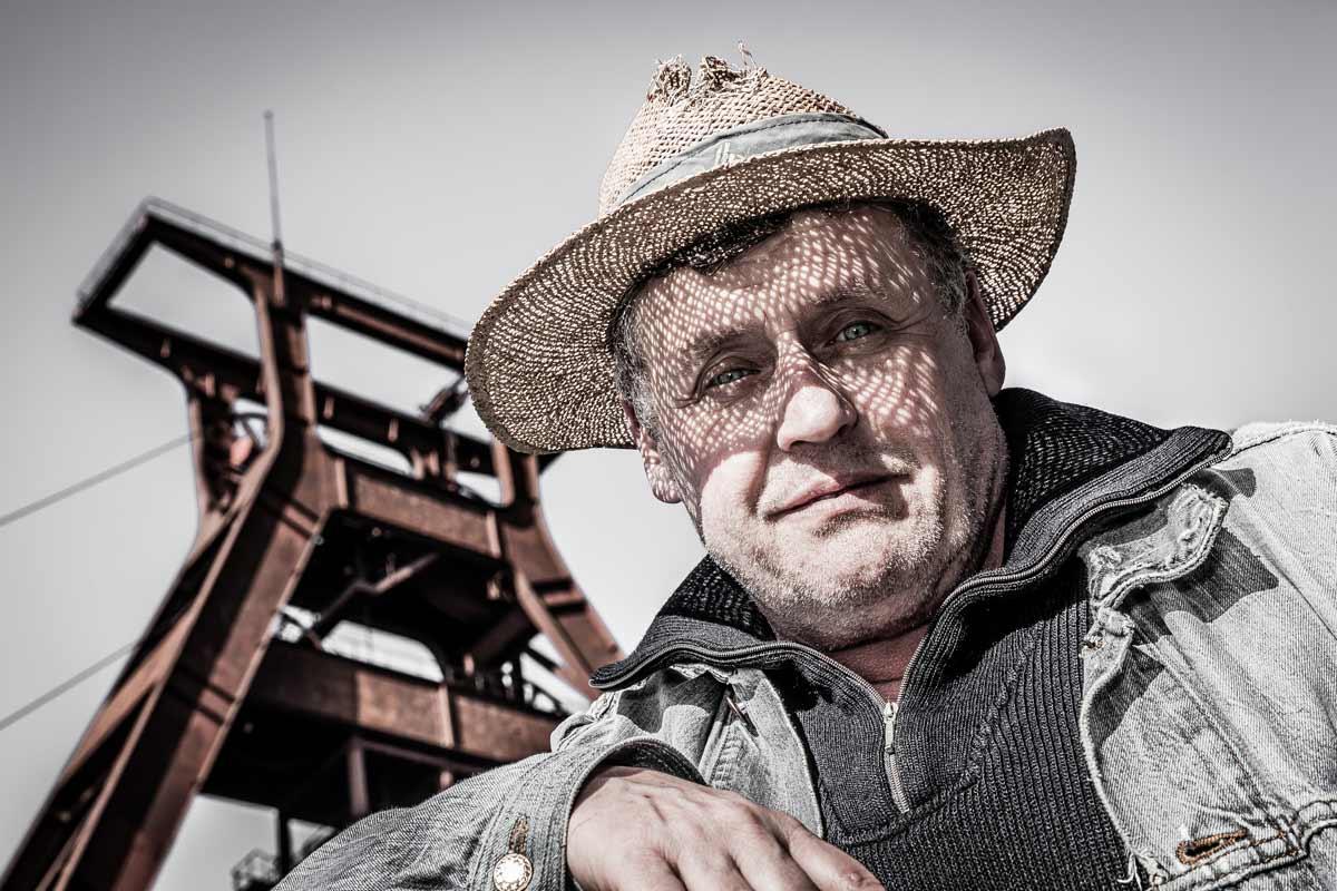 Portraitfotografie für Schauspieler Willi Thomczyk