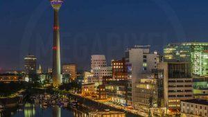 Düsseldorf MINI Foto-Kunst Motiv Nummer 2 von 15 | Medienhafen Düsseldorf