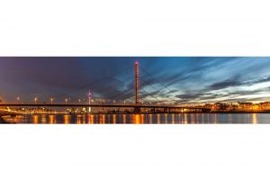 Sehenswürdigkeiten Düsseldorf am Rhein | Panorama Ansicht