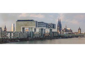 Skyline Bilder Köln | Moderne Domstadt Panorama Bilder