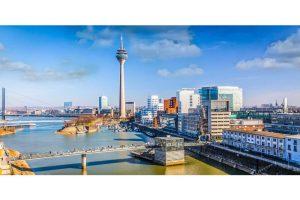 Stadtbilder Düsseldorf | Moderne Skyline Bilder und Panoramen