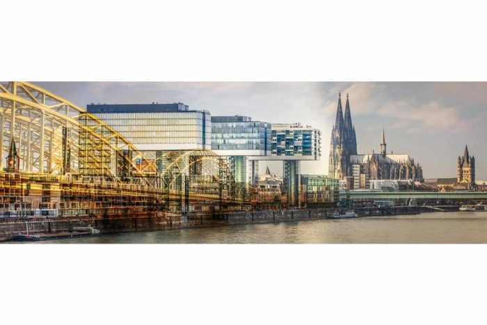 Wandbilder Köln am Rhein | Panorama Motive aus der Domstadt