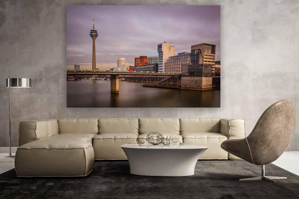 Wandbilder Wohnzimmer im Panorama Pop-Art Kunst Design ...