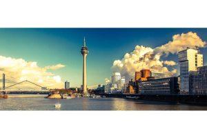 Wandkunst Düsseldorf Medienhafen | XL Bilder aus dem Medienhafen