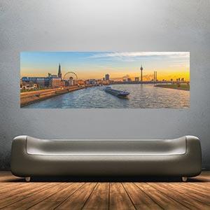 Panorama Bilder und Skyline Art Collagen