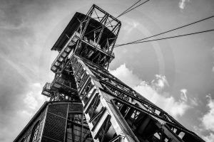 Zeche Dortmund - Industriekultur im Ruhrgebiet. Bild auf Leinwand
