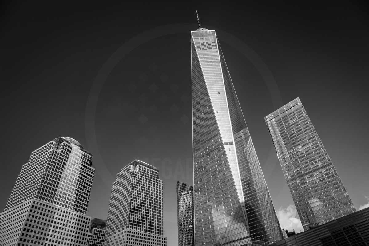 Bilder New York Foto Kunst Architektur | Modernes Stadt Panorama der New York Skyline