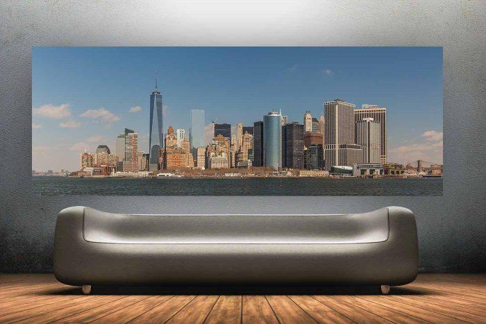 XXL New York Skyline Panorama | Art Edition New York, Fotokunst aus der Bronxxxxxx