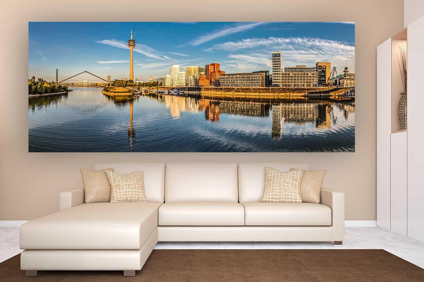 design büros düsseldorf medienhafen panorama bild 180 grad ansichten aus d sseldorf