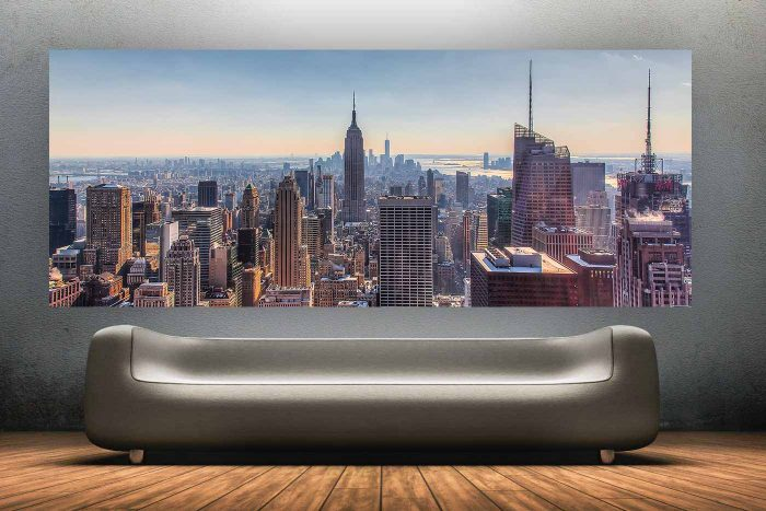 Die New York Kunst Panorama Collage | Bilder aus New York City