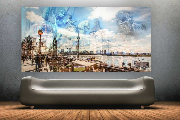 Collage Altstadt Düsseldorf | Tradition PUR und ein echtes Stück Düsseldorf
