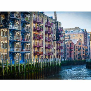 London Themse View | Kunst Panorama und Fotokunst Bild aus London