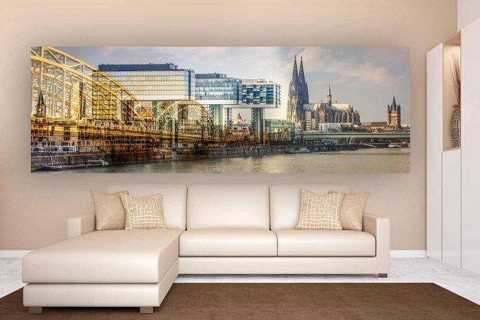 Köln Bilder, Kunst Collagen und Fotokunst Köln| Skyline Panorama Bilder aus Köln