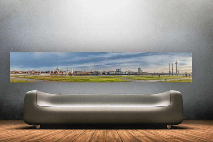 Düsseldorf Kunst Panorama und Skyline Bild | Düsseldorf City Collage