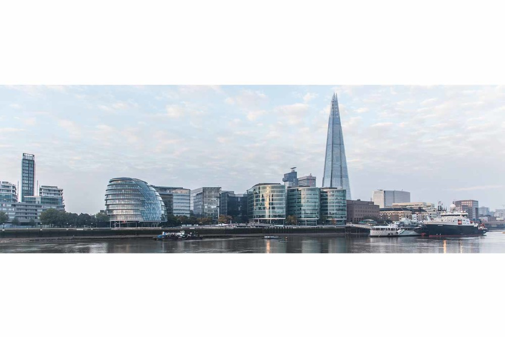 "Kunst Panorama London "" The Shard"" | Panorama und SkylineFotokunst aus London"